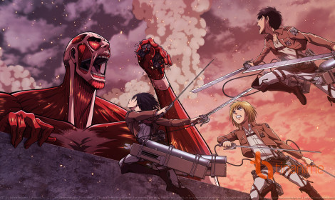 Gặp lại bom tấn Attack of Titan trong game!