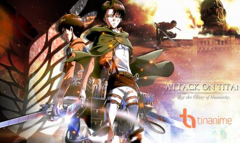 Manga Attack of Titan dẫn đầu bảng xếp hạng doanh thu