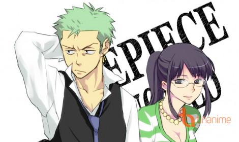 Chùm ảnh vui One Piece: Zoro và Robin