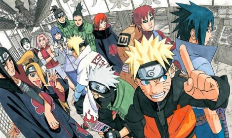 Tận mắt chứng kiến tác giả Masashi Kishimoto vẽ Naruto