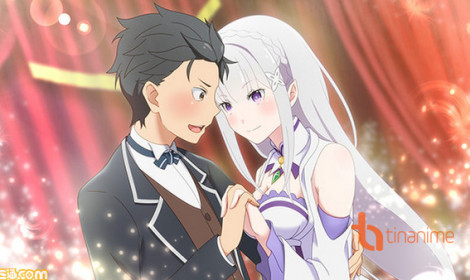 Re:Zero Kara Hajimeru Isekai Seikatsu ra mắt game phiêu lưu cực hấp dẫn