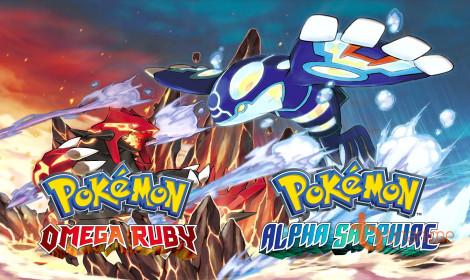 Manga Pokemon Omega Ruby & Alpha Sapphire được xuất bản