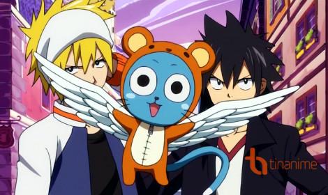 Happy - Chú mèo xanh đáng yêu của hội Fairy Tail