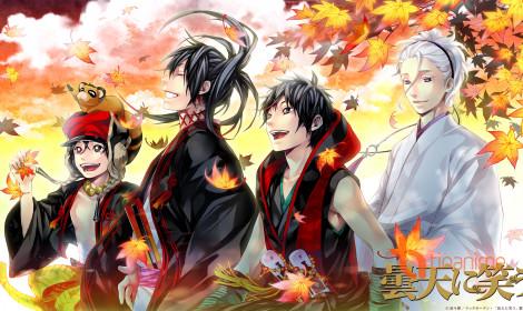 Anime cực hay Donten ni Warau có live - action!