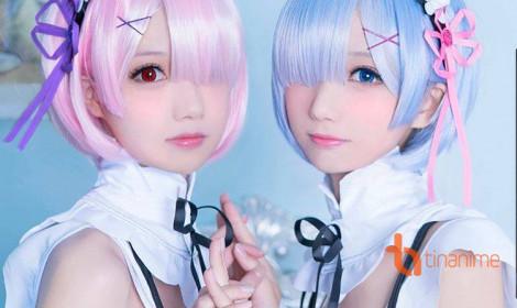 Ram và Rem - cặp sinh đôi đáng yêu của Re: Zero