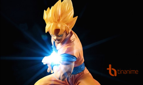 Figure Son Goku tung chiêu Kamehameha