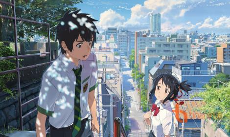 Bộ anime Your Name đạt mức doanh thu khủng chỉ sau hơn 2 tuần công chiếu!