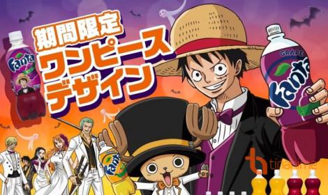 Fan One Piece hãy uống Fanta!