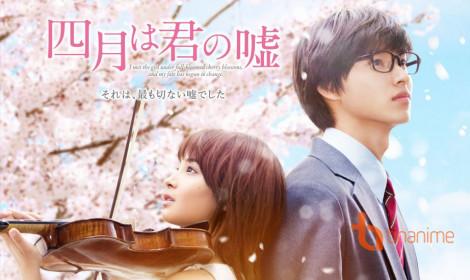 Live - action Shigatsu wa Kimi no Uso tạo nên cơn sốt phòng vé trong tuần đầu công chiếu!