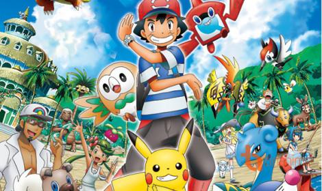 Anime Pokémon Sun & Moon tung promo video mới toanh