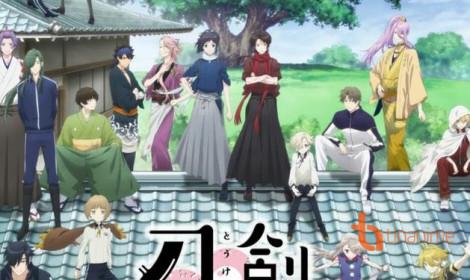 Promo video của anime mới Token Ranbu: Hanamaru giới thiệu nhân vật