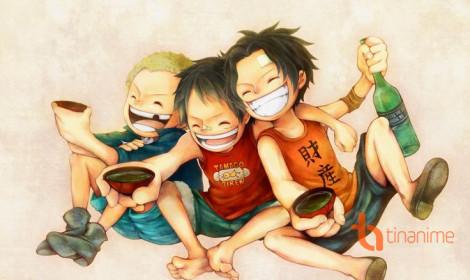 Bộ ba siêu quậy One Piece!