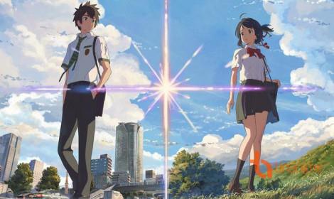 Doanh thủ khủng của bộ anime Your Name