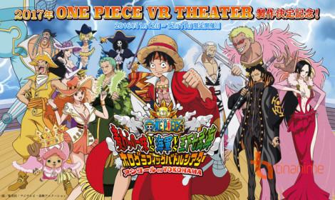 Giấc mơ thành hiện thực với Rạp Phim Thực Tế Ảo One Piece