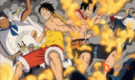 Kịch tính cứu Ace khỏi đài hành hình với phong cách Kabuki