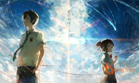 """Anime """"Your Name"""" tiếp tục xưng bá trong bảng xếp hạng phim tại Nhật"""