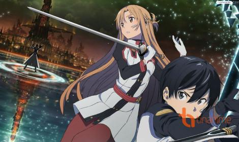 Xem tuyệt tác Sword Art Online được vẽ trên bảng đen!