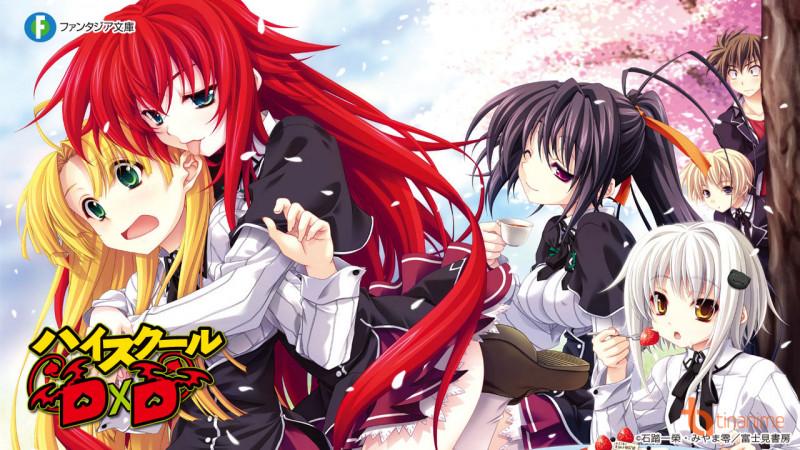 Dự án anime mới của High School DxD