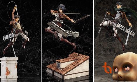 Figure Attack on Titan đẹp kinh hồn