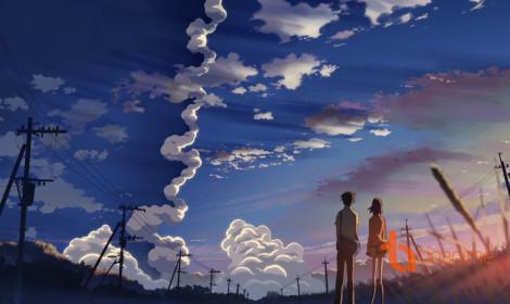 Cảnh vật đẹp ngất ngây lòng trong anime