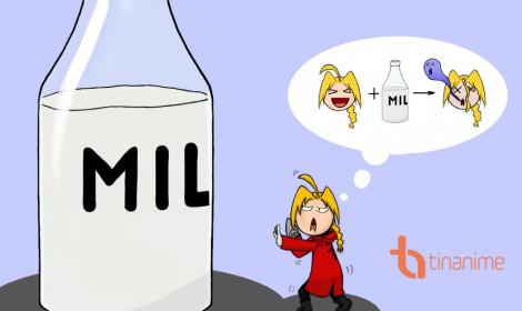 [Fanart] Đã bảo tớ ghét sữa mà!