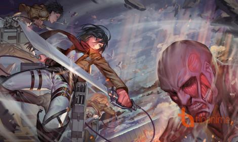 Fanart Attack on Titan đẹp hết hồn!