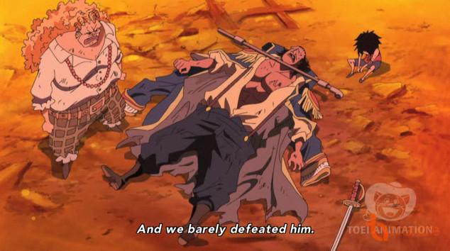 Figure 8: Curly Dadan - Sơn tặc cũng phải chịu thua Ace và Luffy
