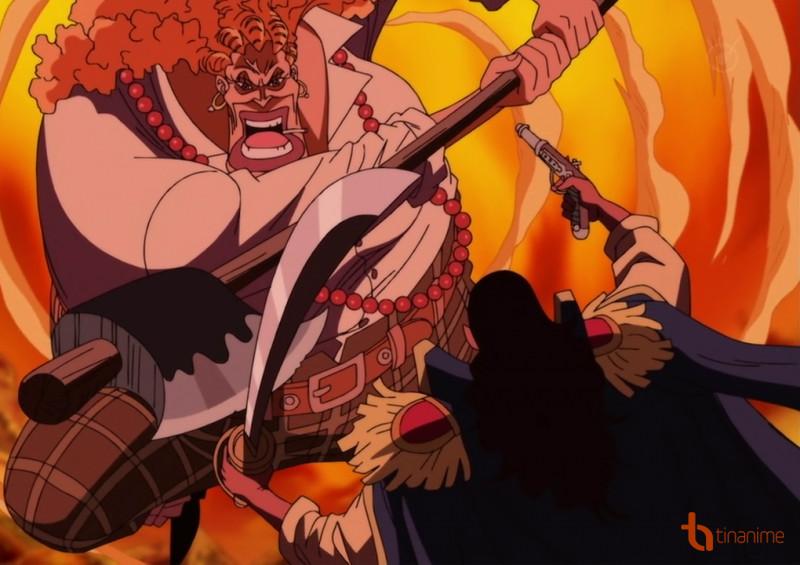 Figure 6: Curly Dadan - Sơn tặc cũng phải chịu thua Ace và Luffy