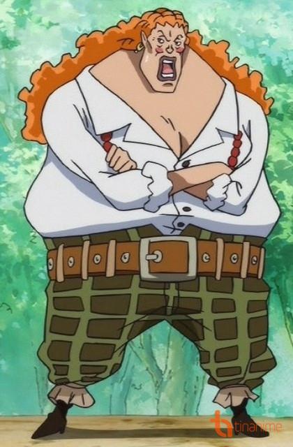 Figure 2: Curly Dadan - Sơn tặc cũng phải chịu thua Ace và Luffy