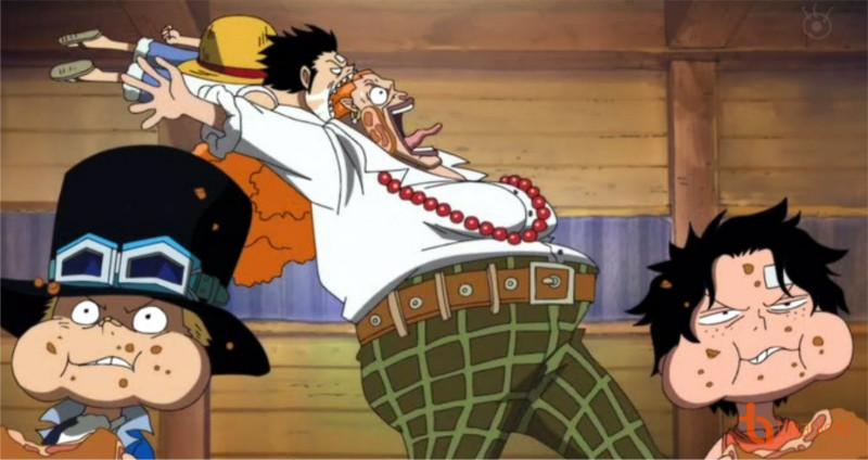 Figure 4: Curly Dadan - Sơn tặc cũng phải chịu thua Ace và Luffy