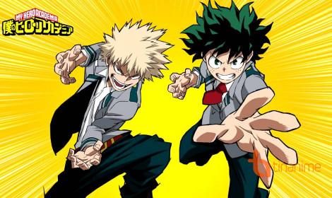 Boku no Hero Academia – Tớ muốn trở thành anh hùng!