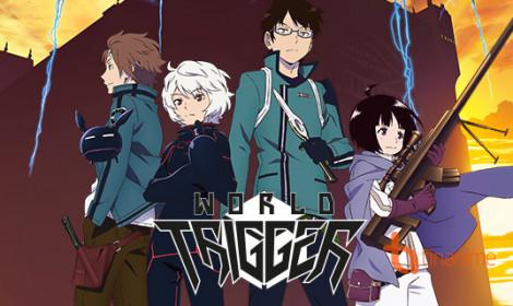 Manga World Trigger tạm hoãn 1 tuần vì lí do sức khỏe của tác giả.