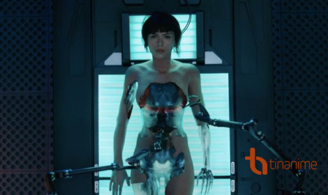 Live-action Ghost in the Shell tung trailer mới nóng bỏng tay