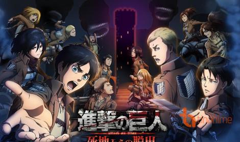 Dự án game Nintendo 3DS Attack on Titan sắp ra mắt fan hâm mộ!