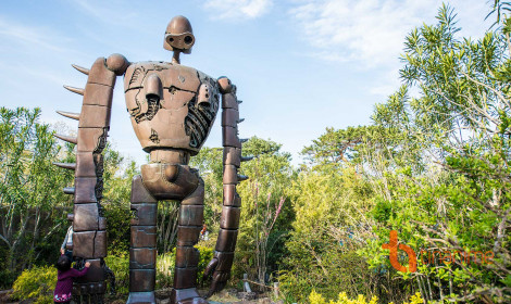 Viện bảo tàng Ghibli - Thế giới mầu nhiệm giữa lòng Tokyo