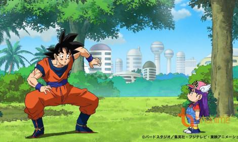 Arale trong Dr. Slump xuất hiện trong tập 69 của Dragon Ball Super