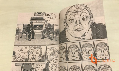 Tổng thống Mỹ Donald Trump xuất hiện trong manga Baki