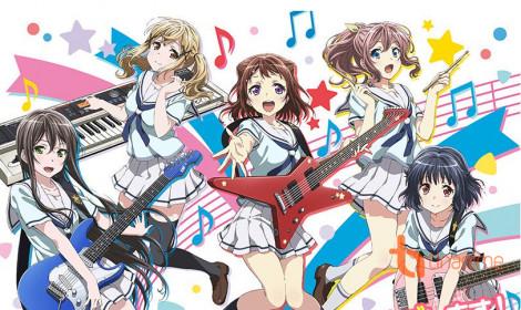 Anime BanG Dream! - Nhóm nhạc của những ước mơ