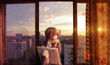[Fanart] Khung cửa sổ và em...