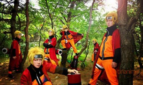 Bộ cosplay Naruto độc đáo!