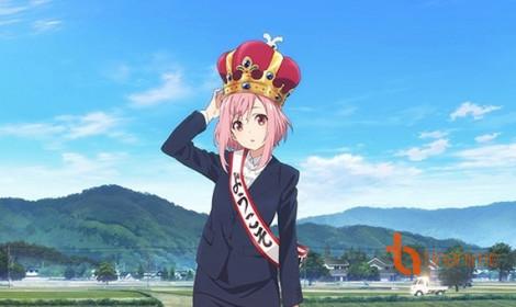 """Anime Sakura Quest - Làm """"vua"""" vùng nông thôn"""