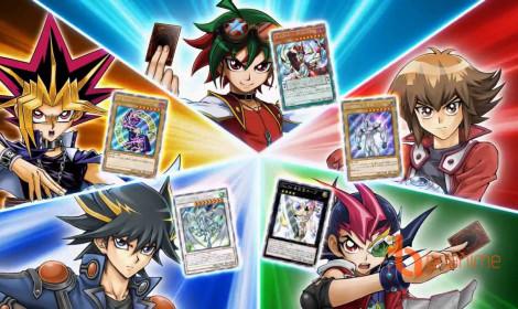 Anime Yu-Gi-Oh! ra series mới oanh tạc mùa Xuân 2017