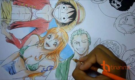 Fan One Piece trổ tài đê!!!