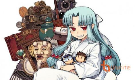 Anime Tsugumomo - Nữ thần đồ vật hay bà chúa rắc rối?