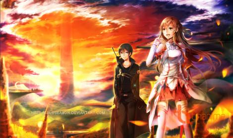 [Fanart] Cuộc chiến sinh tồn trong Sword Art Online