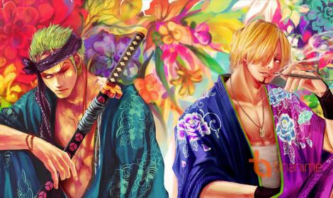 Các nhân vật One Piece mặc kimono! Xem ai mặc đẹp hơn nào!