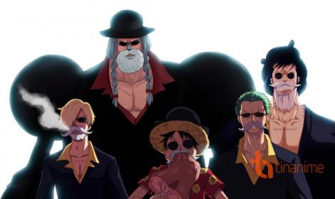 Cosplay One Piece - Franky và bộ ba quái vật băng Mũ Rơm!