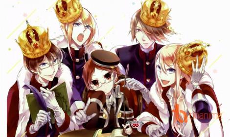 Anime The Royal Tutor - Dàn mỹ nam xuất hiện trong promo mới nhất