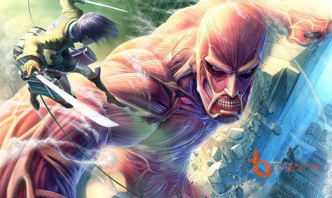 "[Fanart] Attack on Titan chất ""từng centimet"""