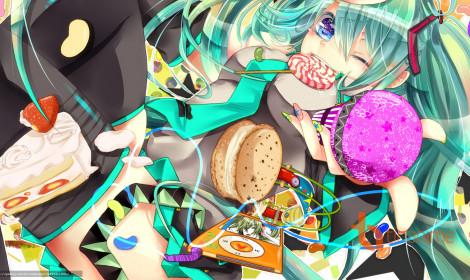 [Artwork] Bộ ảnh dành cho fan anime mê ăn uống!